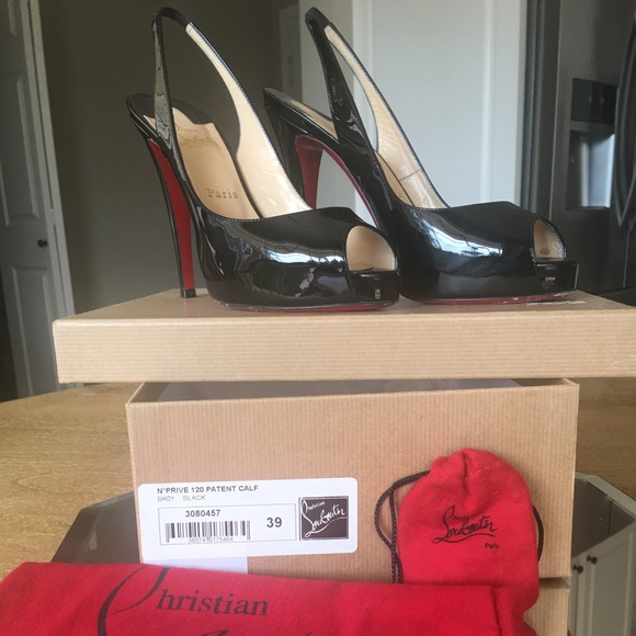 6e0a1012d27 Christian Louboutin Shoes - Christian Louboutin No Prive 120 sz 39